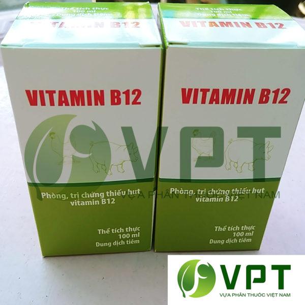 Vitamiin B12 Giai doc phan thuoc cho cay