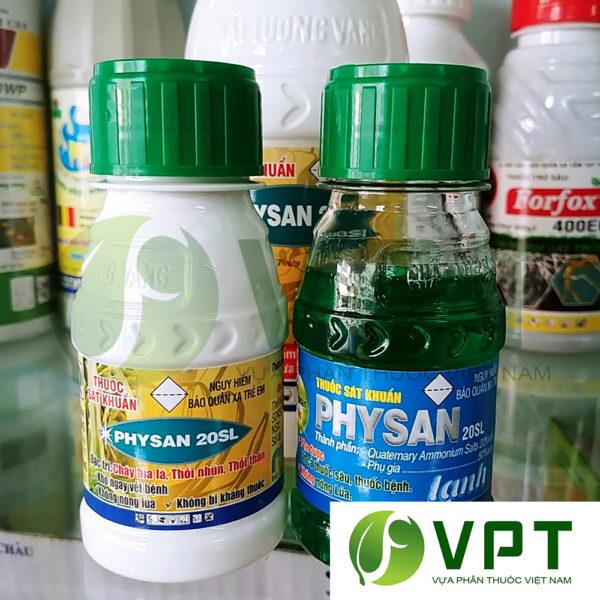 Physan 20SL đặc trị vi khuẩn thối nhũn