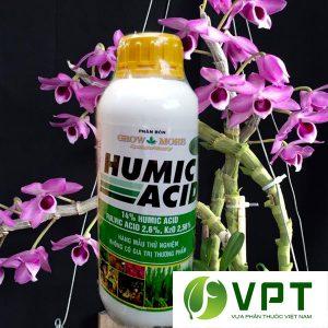 acid humic kich thich ra re