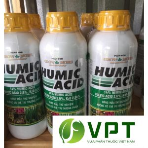 acid humic kich thich ra re