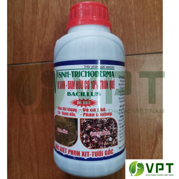 Trichoderma nấm đối kháng dạng nước