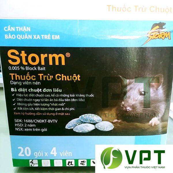 thuốc diệt chuột storm dạng viên nén