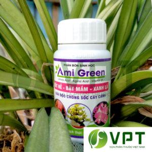 Phân bón sinh học Ami Green Kích rễ giải độc phân thuốc
