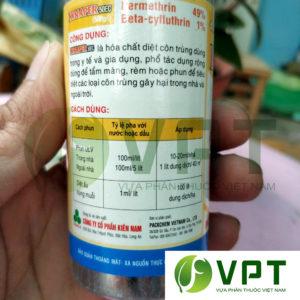Kinaper 50EC thuoc diet con trung ruoi muoi