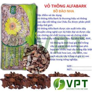 Vỏ thông nhập khẩu alfa bark