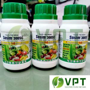 sosim 300sc thuốc trị bệnh phổ rộng