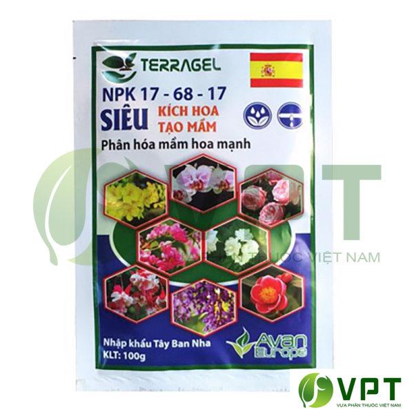 Phân bón lá NPK 17-68-17 kích hoa
