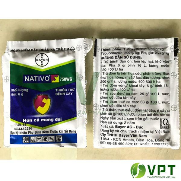 nativo 750wg - thuốc trừ nấm bệnh