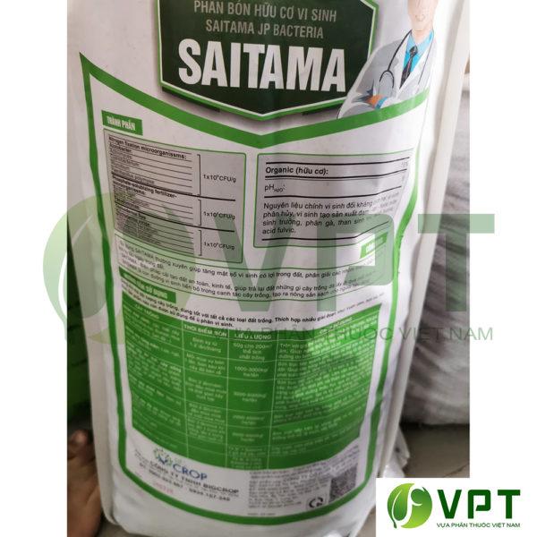 Phân tan chậm hữu cơ vi sinh Saitama